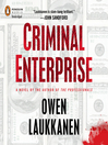 Criminal Enterprise (MP3): Stevens and Windermere Series, Book 2